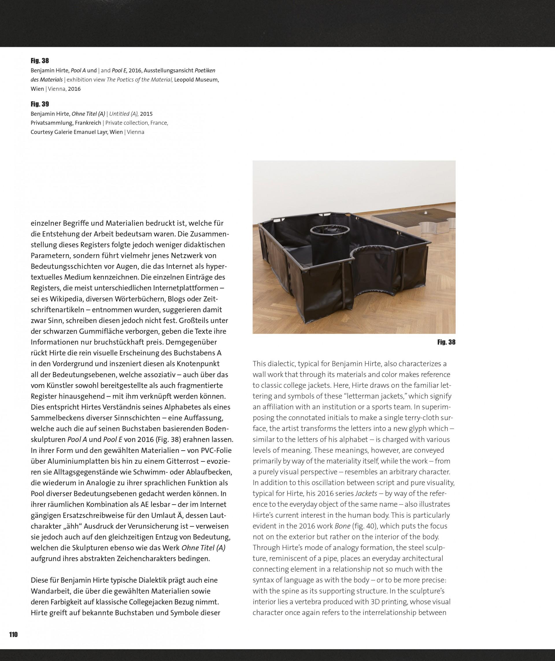 benjamin hirte Leopold Museum Catalogue Contribution